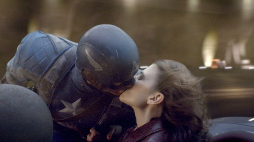Steve-Rogers-Chris-Evans-and-Peggy-Carter-Hayley-Atwell-in-Captain-America-The-First-Avenger