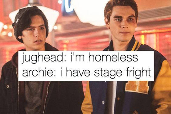Jughead-Homeless