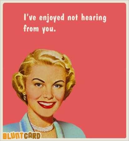 Not Hearing